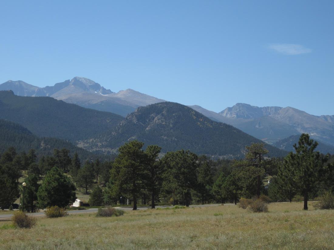 Estes Park mtn. view