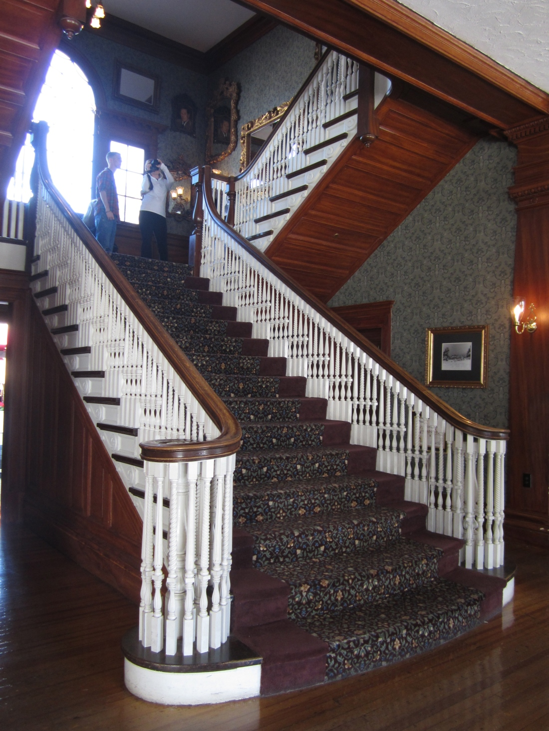 The Stanley staircase