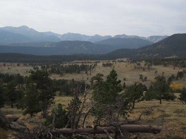First looks outside of Estes Park