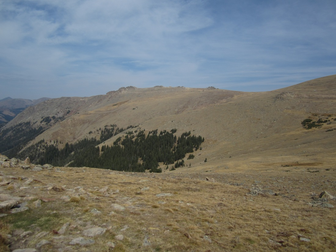 The highpoint of Trail Ridge is there.  Honest!