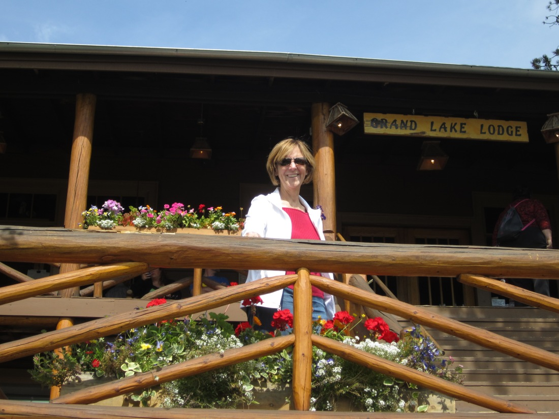 At the historic Grand Lake Lodge.