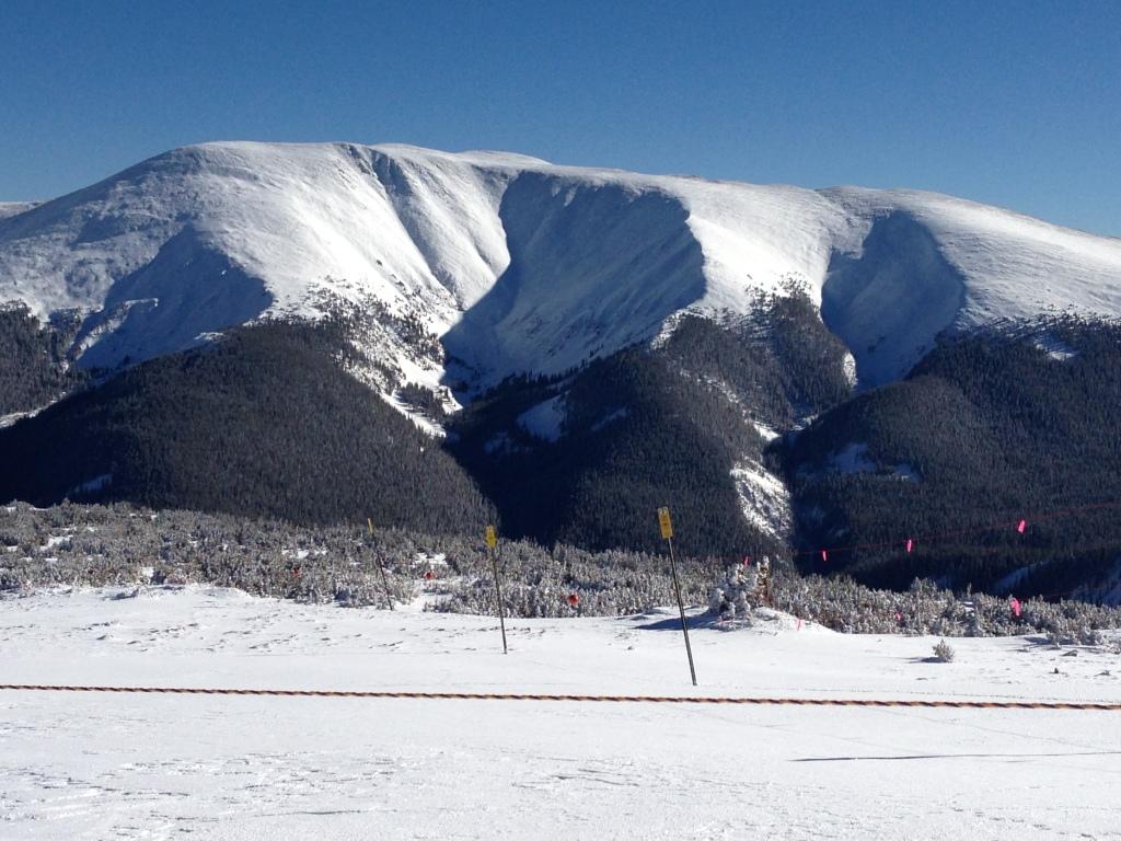 Winter Park 17 Jan.  Top of Panoramic Express lift.  Looking SE.