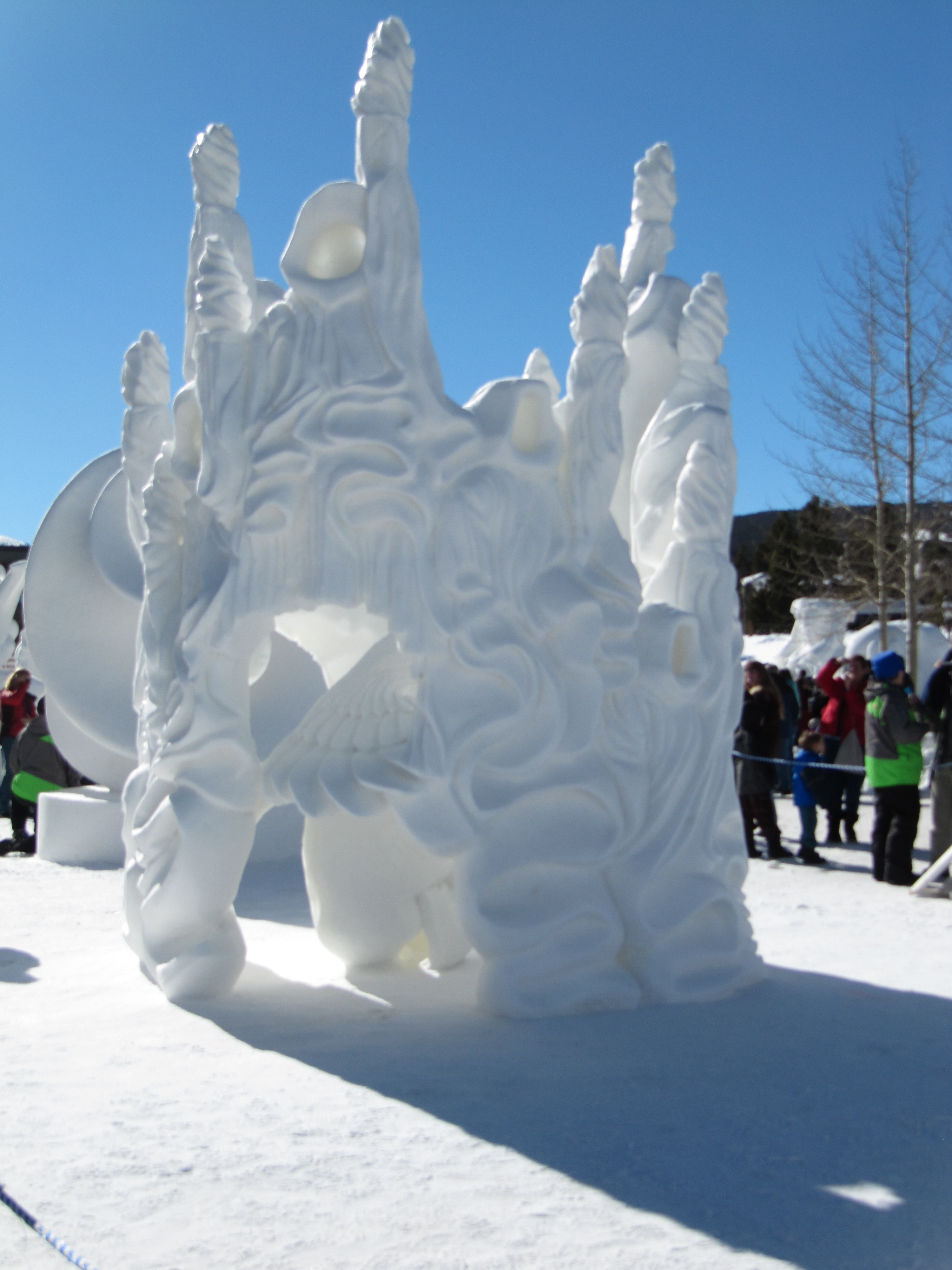 Sculptures Ice Breckenridge