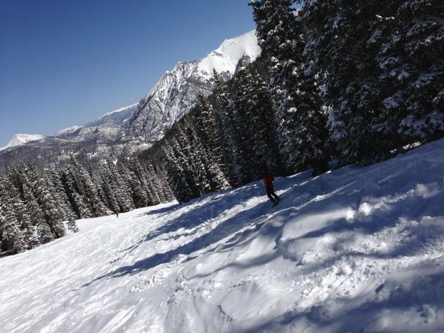 CRUD skiing.