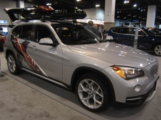 New BMW X1, their entry into what I call the 'compact SUV' market like the Audi A3.