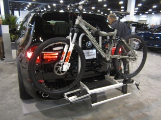 BMW X5. Have to have a bike rack in Colorado.