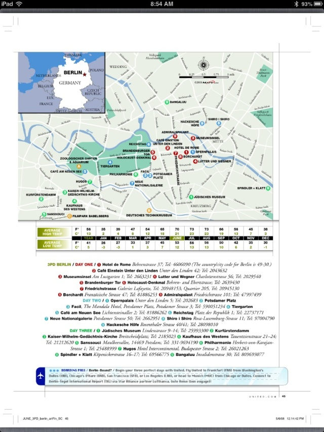 3 days in Prague map