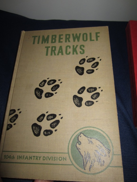 A first edition July 1946 Timberwolf Tracks, history of the WWII 10th.
