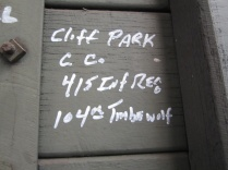 Cliff was on the May 2010 tour. He has passed away since.
