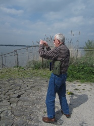 WWII vet Tom at the Maas.