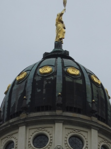 French Cathedral dome.