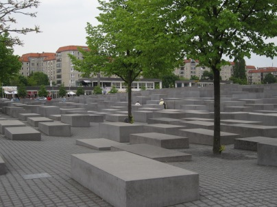 The Monument to the Murdered Jews in Europe.