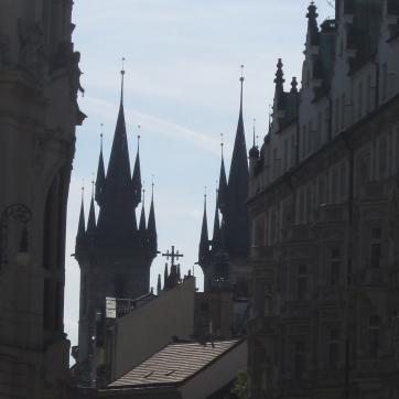 Prague is as-SPIRE-ing. :)