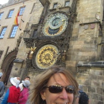 The Astronomical Clock in Old Town Square.