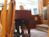 Restaurant pianist.