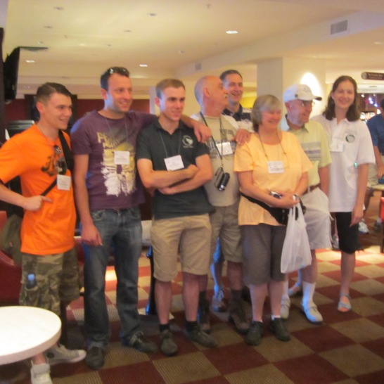 7 Belgian and Dutch Friends of the Timberwolves, plus ringer Wes Gaab.