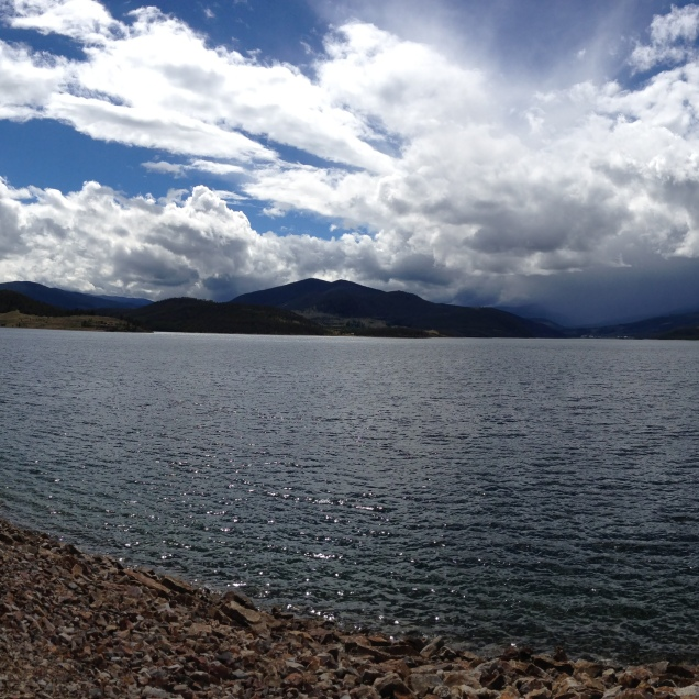 Panorama mode on the iPhone 5.