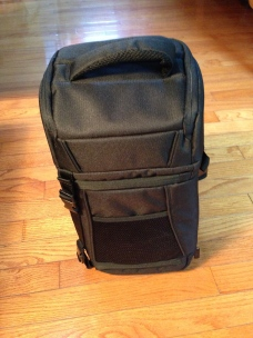 Amazon brand Slingbag, clever but confusing for a novice.