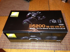 Da' camera box, with body and 18-55mm lens.