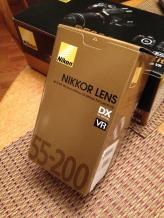 55-200mm added lens.