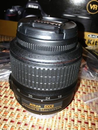 18-55mm lens.