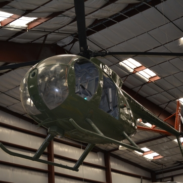 LOH-6 aka 'Loach-6', Light Observation Helicopter. Highly maneuverable. Reported to be able to do a loop.