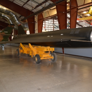 A supersonic drone put in service after manned spy planes were retired.