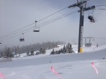 The Excelerator chairlift.
