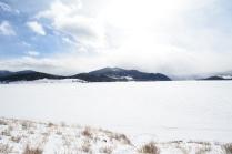 Across Lake Dillon.