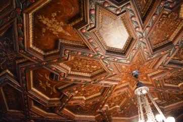 A Ca'D'Zan ceiling detail.