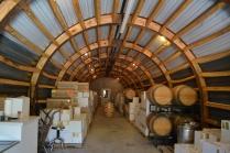 The cellars that Lee built.