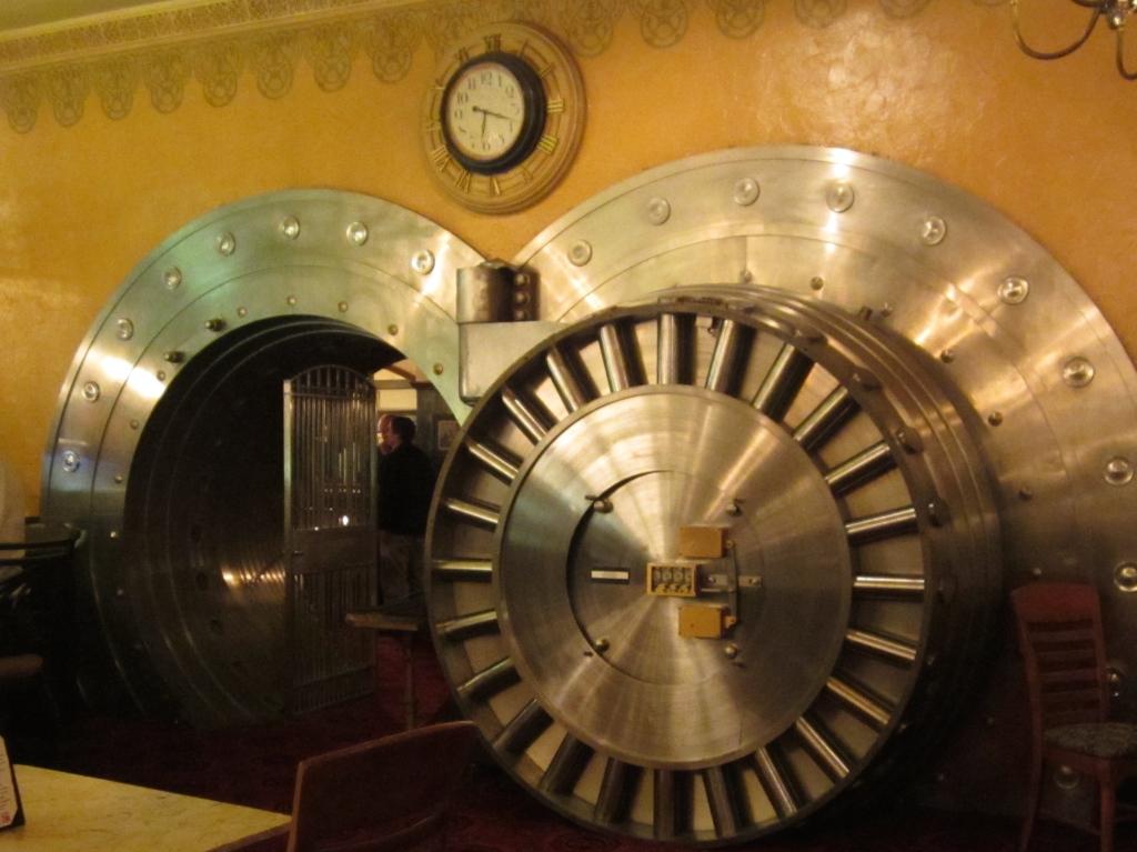 Banking on time?  The Broker Restaurant, Denver CO.