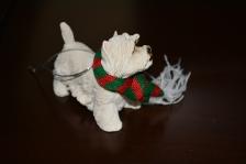 Westie ornament.