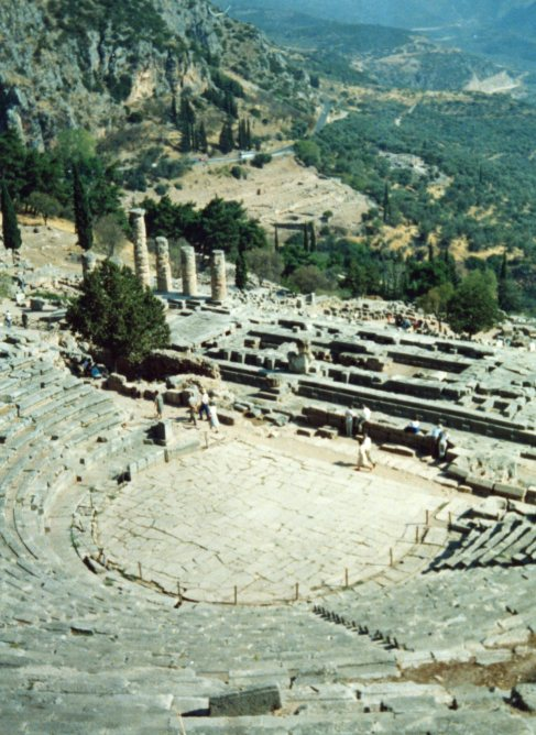 Delphi, the Oracle.  (Has anyone seen Larry Ellison?)