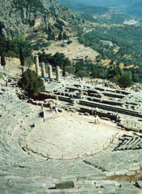 Delphi, the Oracle.  (Has anyone seen Larry Ellison?)