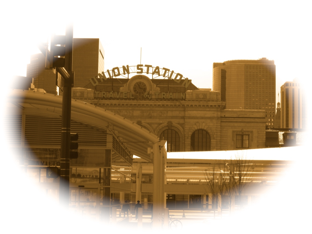Though we visit downtown from time to time m'lady and I hadn't been to Union Station in over a decade.