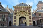 The east entrance to the Binnenhof.