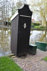 A Dutch 'privy'.