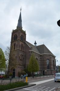 The church in Boskoop.