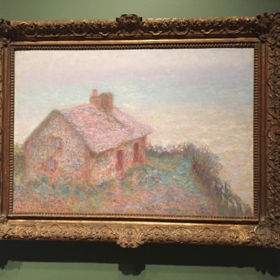 On the 6th floor of the DAM are a few Impressionist paintings in the Places exhibit.