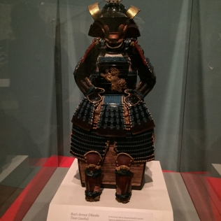 A boy's armor.