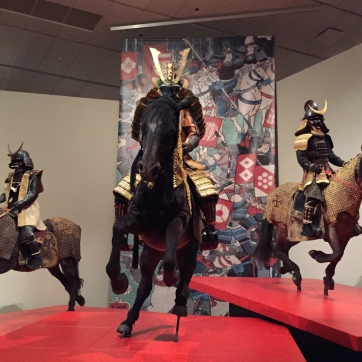The well-armored samurai were mostly high-ranking officers.