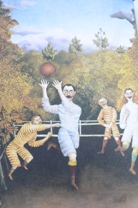 The Football Players, by Henri Rousseau, 1908 (IFC, inside front cover)