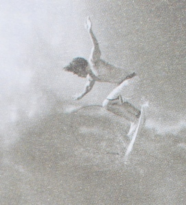 Surfer at the Banzai Pipeline, Oahu, Hawaii, 2000. Photo by Ed Freeman. (Detail, p. 43)