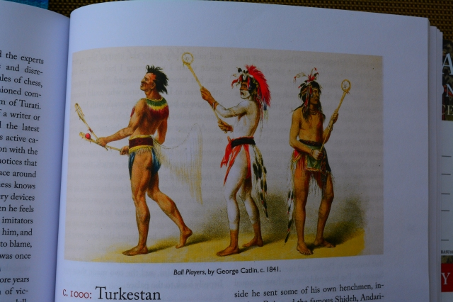 Ball Players by George Catlin, c. 1841 (p. 67)