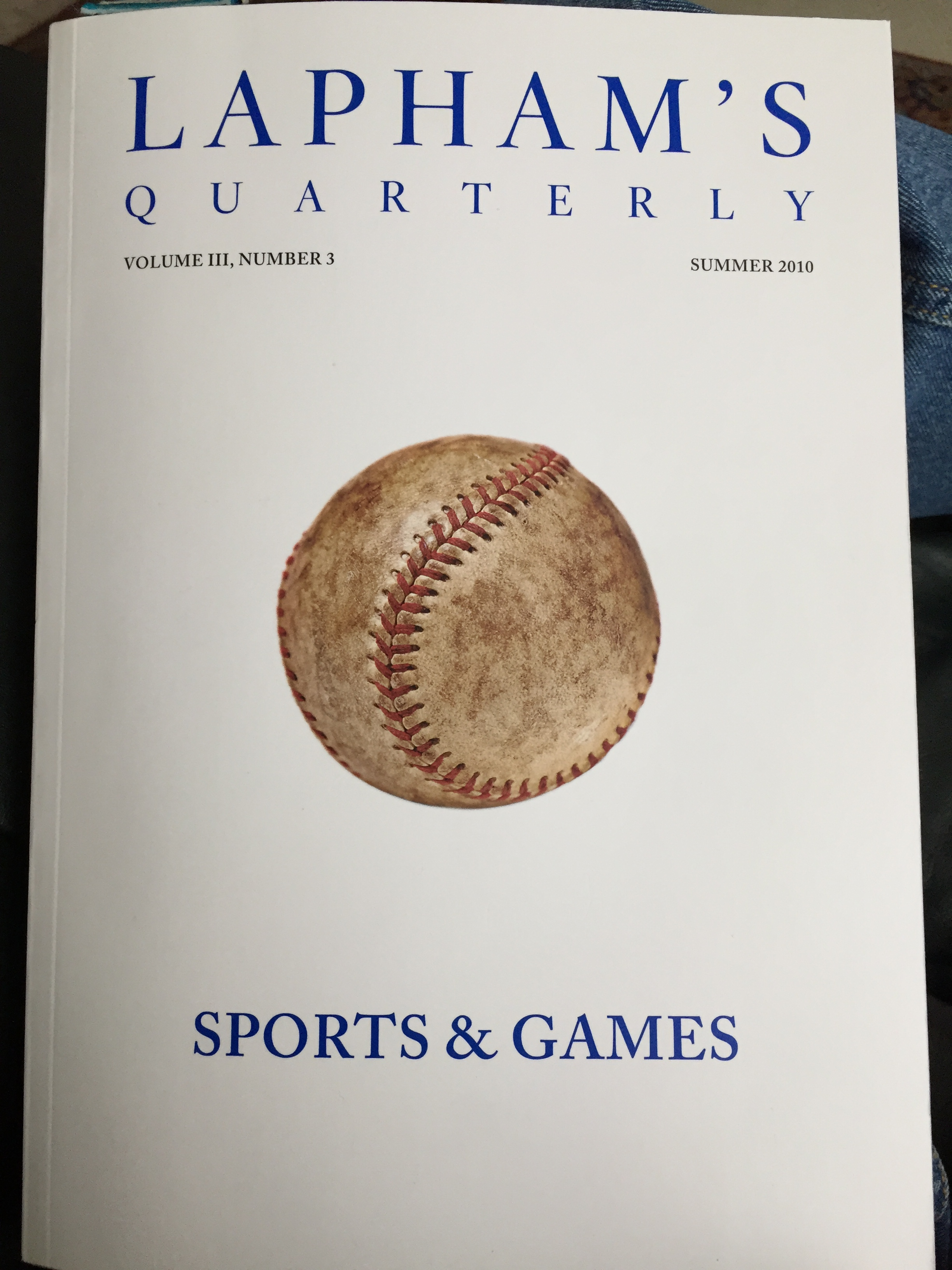 L.Q. Summer 2010: Sports and Games