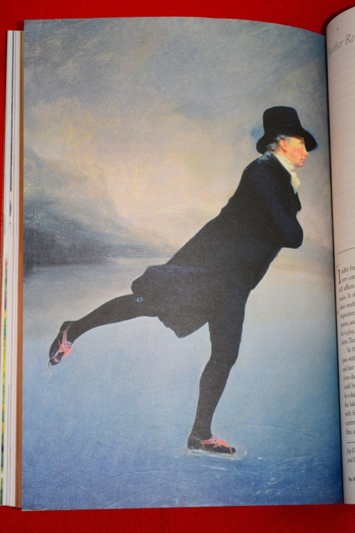Rev. Robert Walker Skating on Duddington Loch by Sir Henry Raeburn, c. 1781 (p. 182)