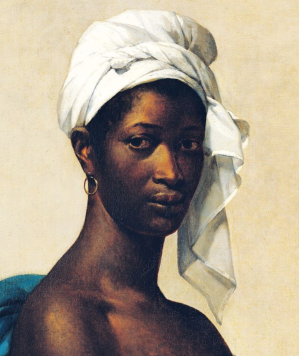 Portrait of a Negress, by Marie-Guillemene Benoist, c. 1800 (detail, p. 12)