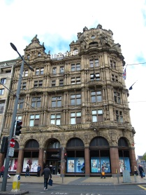 Jenners Department Store, an interesting building.