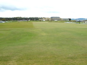 The Old Course start and hotel.